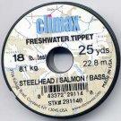 Climax Steelhead 18Lb Test Mono Fishing Tippet Material