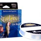 ReaLine Lo-Vis Clear 6# Test Fishing Line - 330 Yards