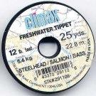 Climax Steelhead 12Lb Test Mono Fishing Tippet Material