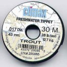 Climax TROUT 28 Lb Test Monofilament Tippet Material