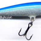 "Rapala F-7 Blue Original Floating 2-3/4"" Balsa Lure"