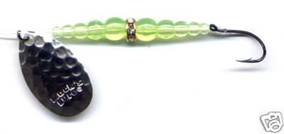 Mack's New Wedding Ring Chartreuse/Silver Spinning Lure