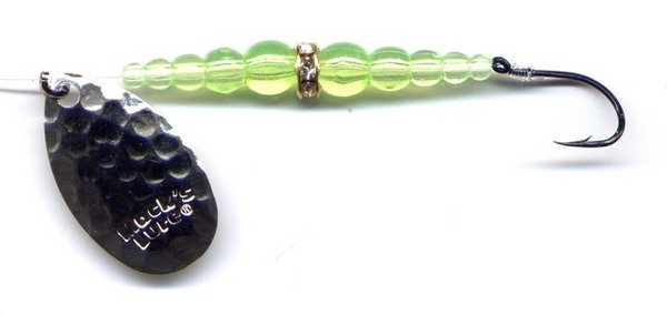 Mack's New Wedding Ring Chartreuse Spinning Lure