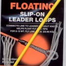 Cortland Floating 50# Slip-On Clear Fishin Leader Loops