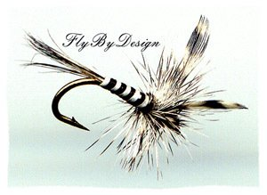 Mosquito Dry Fly - Twelve Size 18 Fly Fishing Flies