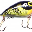 "Storm 2"" Bumble Bee SubWart Shallow Diving Lure"