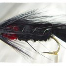 Matuka Black Streamer Fly Fishing Flies (12)Hook Size 6
