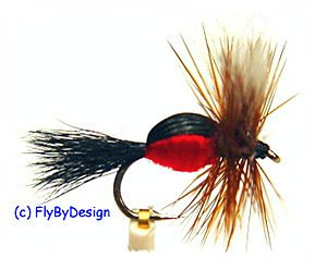 Royal Humpy Attractor Dry Fly Fishing Flies Twelve #10