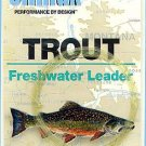 Climax 12 ft 5x Trout Freshwater Fly Fishing Leader