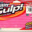 "Berkley Gulp 5.5"" Floating Bubblegum Pink Dover Crawler"