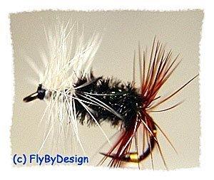 Renegade Fly Fishing Dry Flies - Twelve Hook Size 18