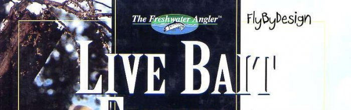 """""""Live Bait & Doughbait Fishing"""" Freshwater Angling Book"""
