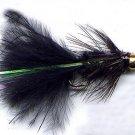 Bead Head Black Woolly Bugger Twelve Hook Size 6 Flies