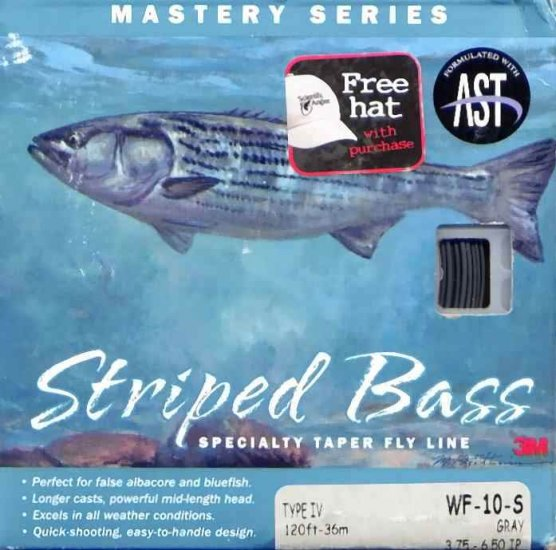 Scientific Anglers Striped Bass WF 10 Sinking Fly Line