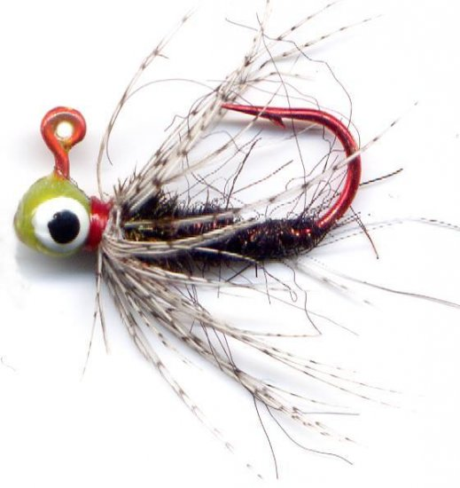 Black Czech Soft Hackle #10 Fly Jigs - 1/100 oz 3-Pak