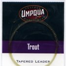 Umpqua 9'  3x (8 Lb test) Tapered Trout Leader w/Loop