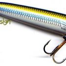 "Storm 2-1/2"" Rattlin Gizzard Shad ChugBug Floating Lure"