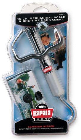 RAPALA New 15 LB Fish Scale & 35MM Color Film Camera