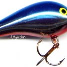 Rapala Rattlin' Fat Rap Chrome/Blue Back RFR05 CHB Lure