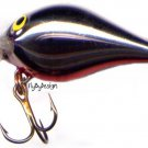 Rare Rapala Chrome Rattlin' Fat Rap RFR5-CH w/ PAPERS