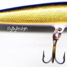 "Rapala Gold Original Floating 3-1/2"" Lure F9 G"
