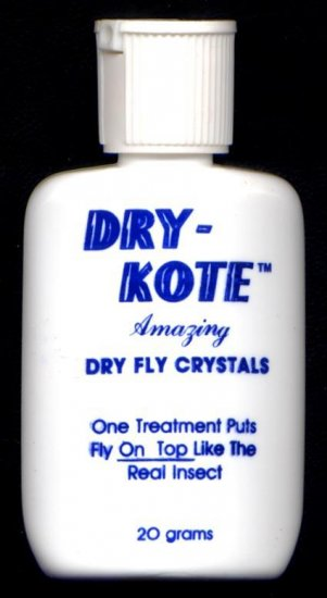 Superior Dry Kote Dry Fly Crystals for Fly Fishing