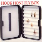 Skykomish Durable Lifetime Hook Hone Stone Foam Fly Box