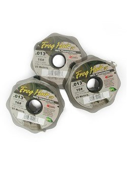 Frog Hair 0x Fluorocarbon Tippet Material (12# test)