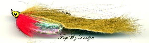 Olive Rabbit Zonker - Twelve Fly Fishing Flies Hook # 8