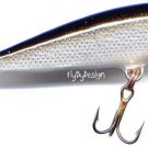 "Rapala Silver 2"" CountDown CD05-S Sinking Lure w/PAPERS"