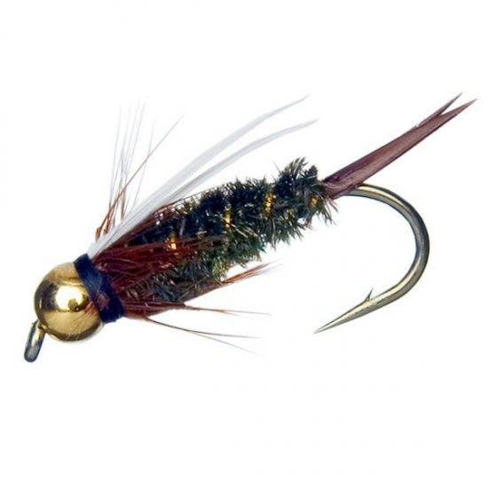 Bead Head Prince Nymph Twelve Size 6 Fly Fishing Flies