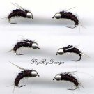 Northfork Special Fly Fishing Nymph One Dozen Size 10