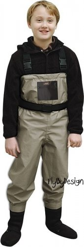 CADDIS Breathable Stockingfoot Youth Chest Waders