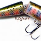 "Rapala J07 Jointed Floating 2-3/4"" Rainbow Trout Lure"