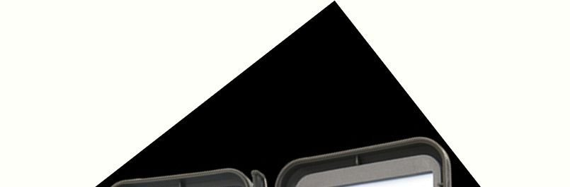 Small Plastic Light-Weight Fly Box w/Foam & 4 Threaders