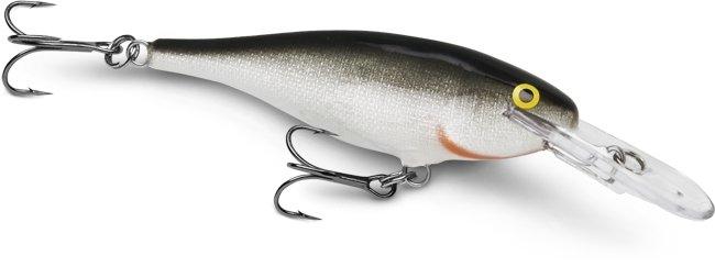 Rapala SR5 Silver Balsa Natural Shad Rap Baitfish Lure