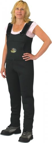 Women's Forest Green Stockingfoot Neoprene Chest Wader