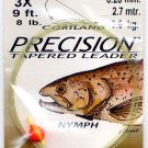 Cortland Precision Tapered Monofilament Nymph Leaders