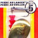 Luhr-Jensen Brass TeeSpoon Spinner - Size 5