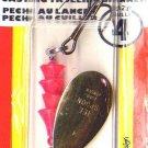Luhr-Jensen Brass TeeSpoon Spinner - Size 4