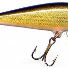Rapala CD-9 Sinking Gold/Blk Countdown Lure with Papers