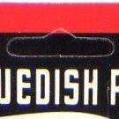 "Swedish Pimple 1-7/8"" Nickel #5 Lure 1/3 oz."