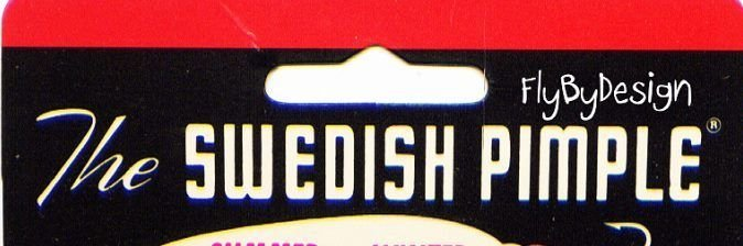 "Swedish Pimple 2-1/4"" Nickel #6 Lure 1/2 oz."