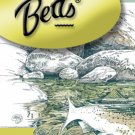 Betts White/Black Trim Gim Size 8 Fly Fishing Popper