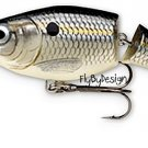 Rapala Jointed JSR04 Suspending Rattlin Silver Shad Rap