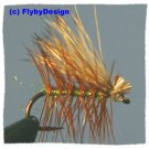 Olive Elk Hair Caddis Dry Fly Fishing Flies - Choice of Hook Size