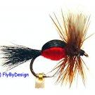 Royal Humpy Fly Fishing Flies -Twelve NEW Premium Flies Choice of Hook Size
