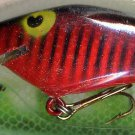 Vintage (1987) POE'S SUPER CEDAR Red/Black Crawdad Lure