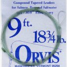 Orvis Salmon/Bass/Saltwater 9 Ft - 18-3/4 lb Compound Monofilament Leader