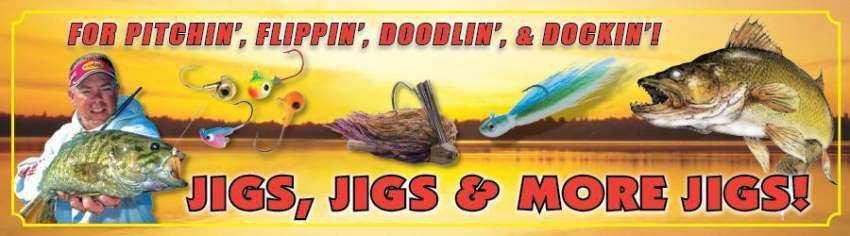 """Northland Slug Bug Larvae Grub Jigs (2-pak) """"Bug-Eyed Bro Bug"""" Collection"""